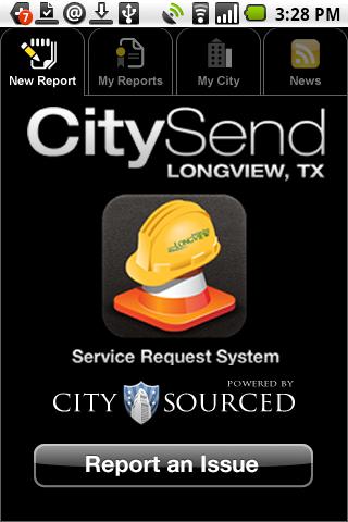 Longview, TX CitySend Screenshot