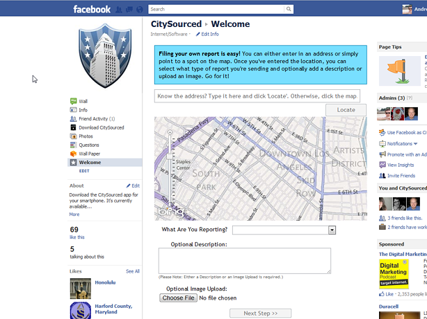 Rock Solid Facebook App