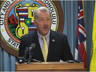 Honolulu Mayor Carlisle's Press Conference