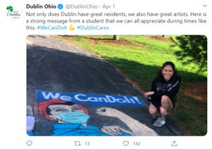 Dublin, OH starts the #dublincares hashtag to share information and positive stories during covid-19 | rocksolid.com