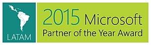 LATAM 2015 Microsoft Partner of the Year