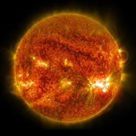 NASA instagram photo of star