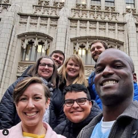 group photo from elgl's instagram as an example of government instagram accounts to follow