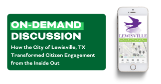 lewisville on demand webinar citizen engagement transformation banner | rocksolid.com