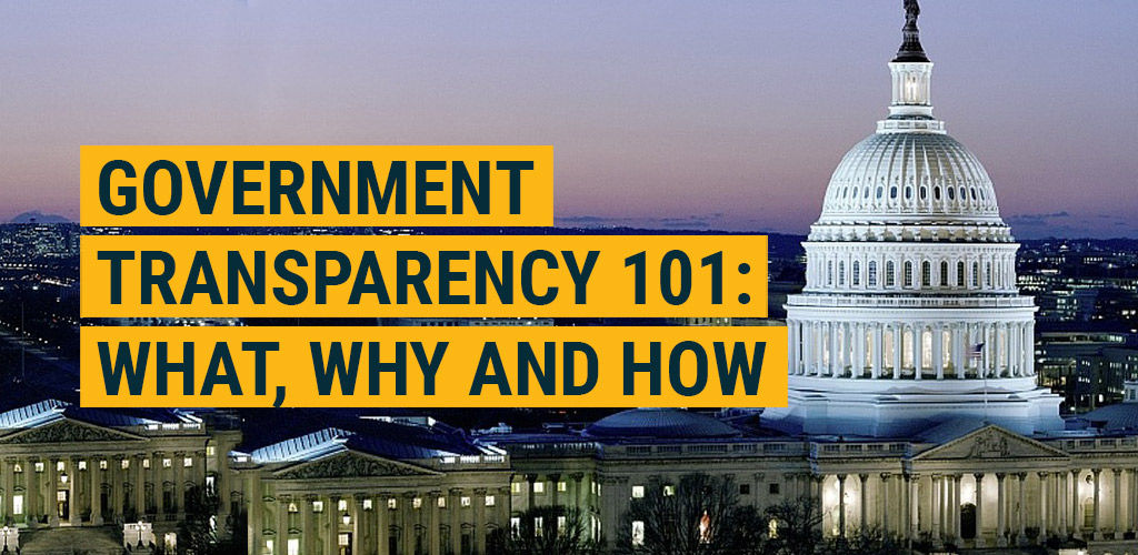 Government Transparency 101: What, Why and How featured image