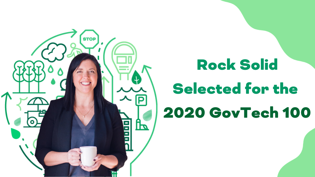 Rock Solid Selected for the 2020 GovTech 100