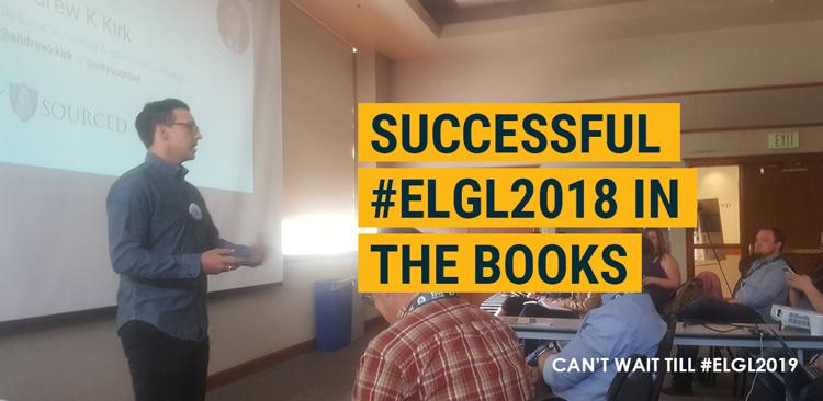 Successful #ELGL2018 in the Books
