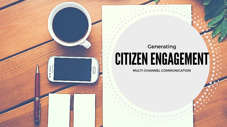 Generating Citizen Engagement with Multi-Channel Communication