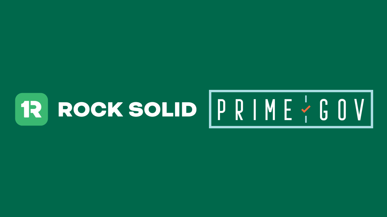 Ready to Transform Citizen Engagement? Rock Solid and PrimeGov Join Forces